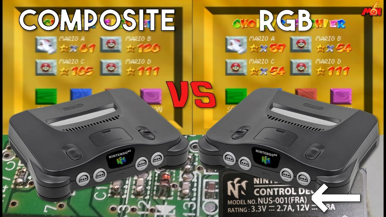 small resolution of tutorial rgb en la nintendo 64