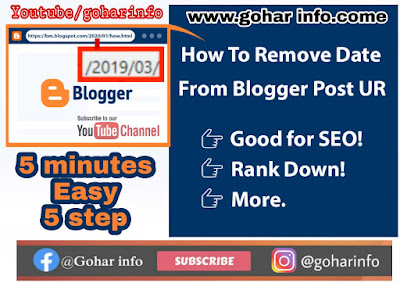 How to remove date from blogger post url,url date removel,How to remove date from WordPress  post url