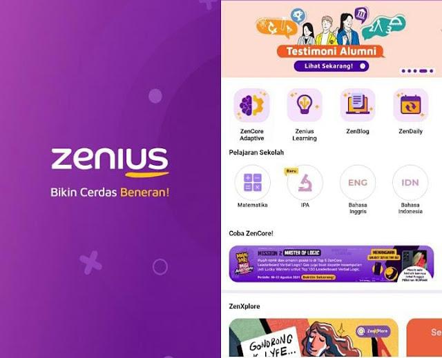 ZenCore meningkatkan kemampuan otak untuk para siswa