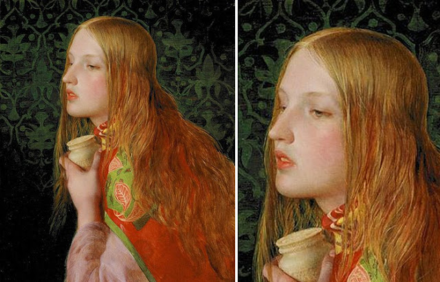 "Frederick Sandys ""Mary Magdalene"", 1859"