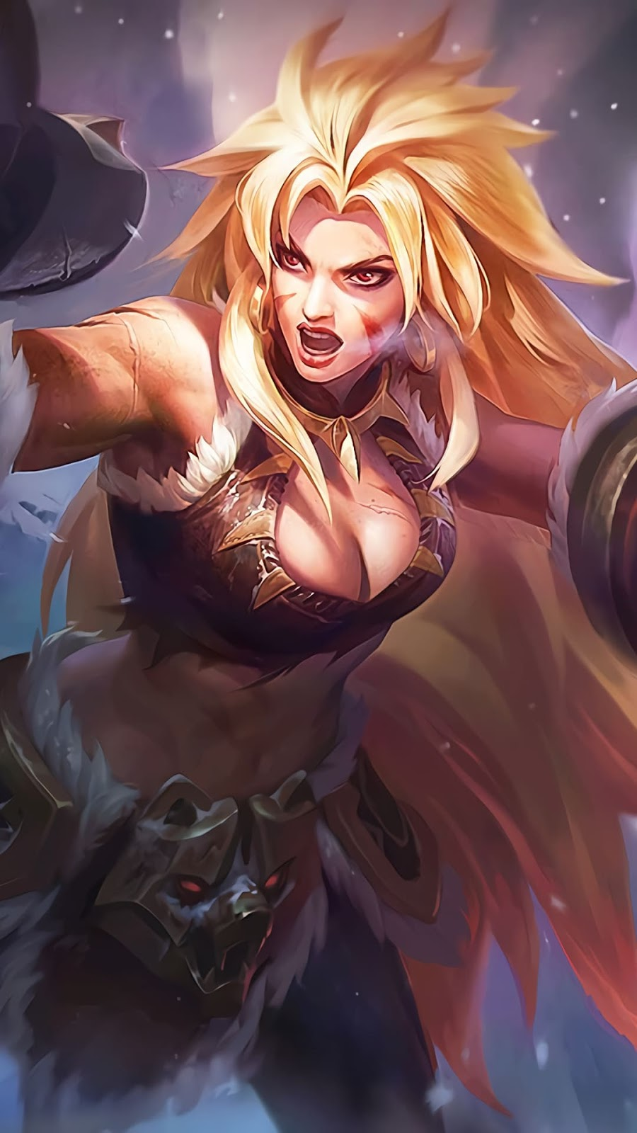 Wallpaper Masha Wild oats Fist Skin Mobile Legends HD for Android and iOS