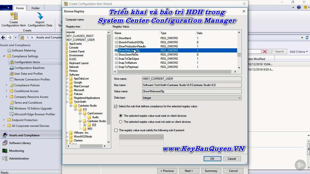 Triển khai và bảo trì hệ điều hành trong System Center Configuration Manager ( SCCM ).