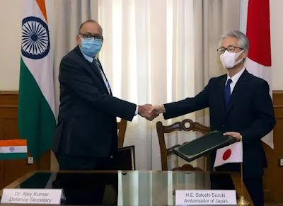 India, Japan sign agreement on Reciprocal Provision of Supplies and Services between Forces of both countries Highlights with Details