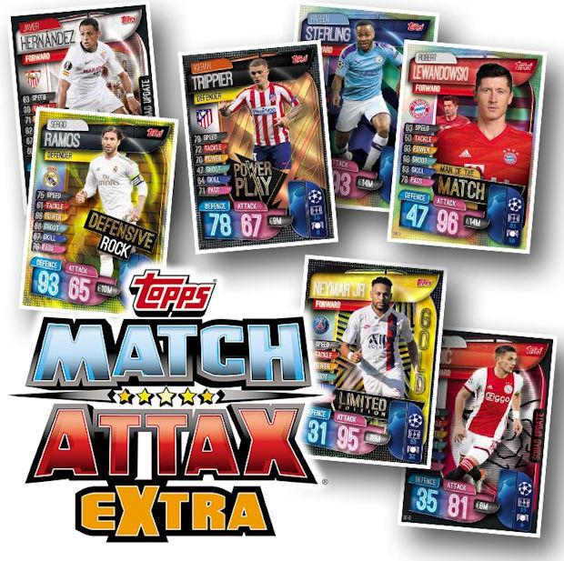TOPPS Match Attax Extra figurine di calcio 2019//20 MEGA TIN