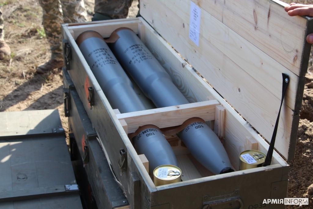 Всі полетіли, – військові випробували відремонтовані артснаряди 1986-1988 років імпортовані з Чехії