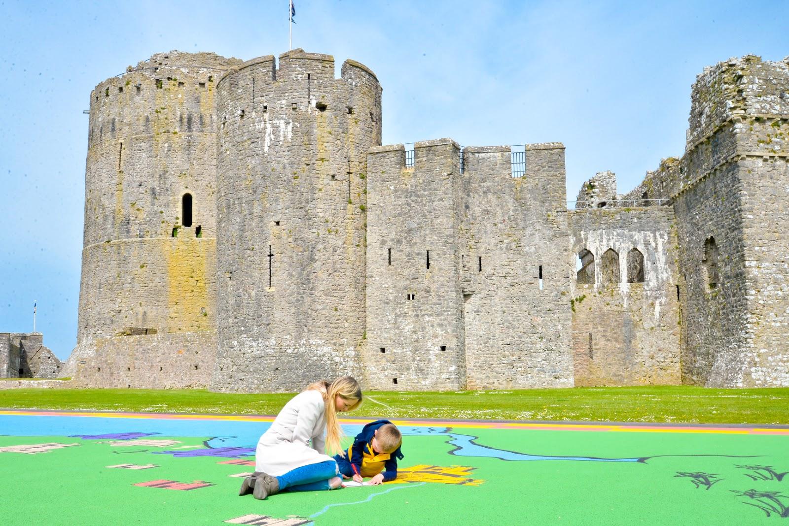Pembroke Castle,  Bluestone wales, pembrokeshire,