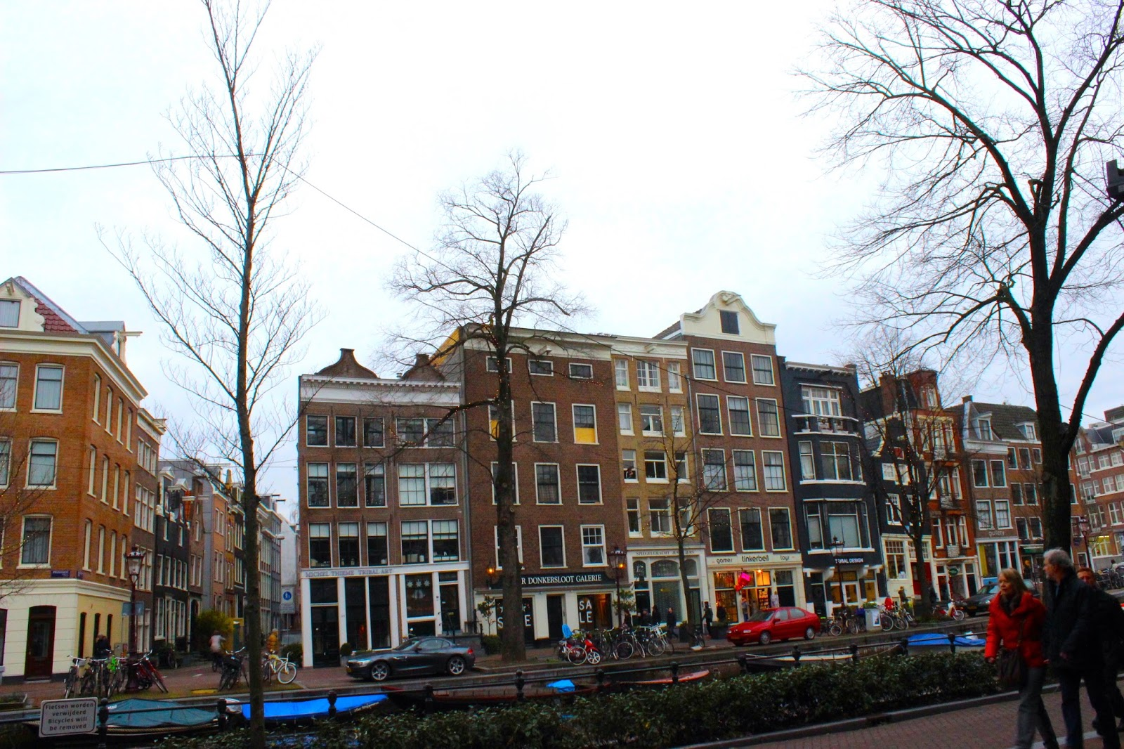 Amsterdam buildings houses