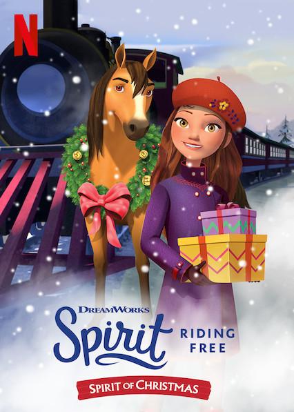 Spirit Riding Free: Spirit of Christmas (2019) NF WEB-DL 108p Latino