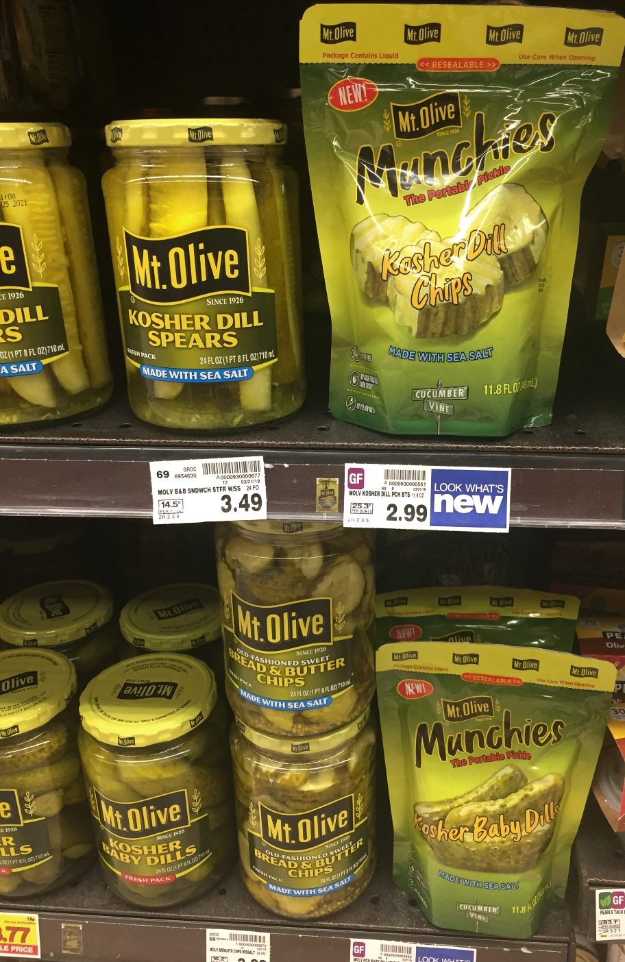 Mt. Olive pickles