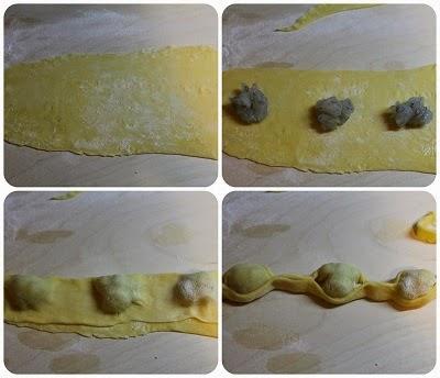 ravioli del plin ai gamberi
