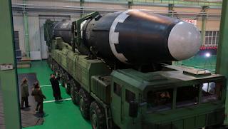 ICBM Nuklir Korea Utara