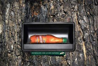 Publicidad lata de cerveza