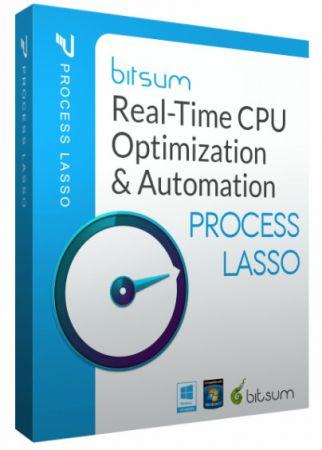 Bitsum Process Lasso Pro 9.8.0.19 BETA poster box cover