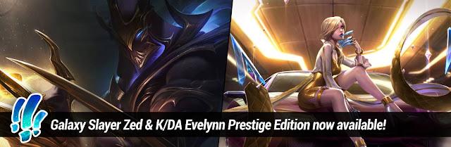 Surrender at 20: Galaxy Slayer Zed & K/DA Evelynn Prestige Edition