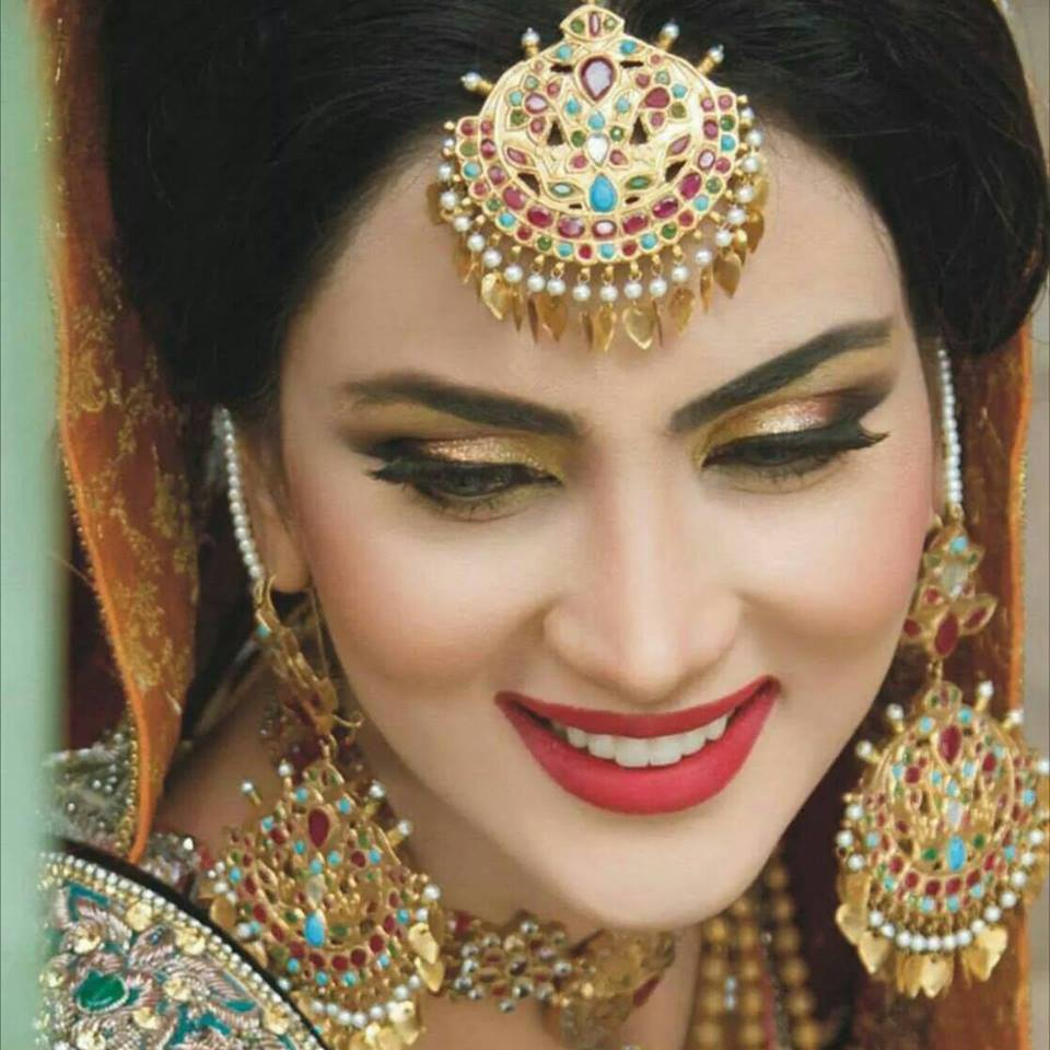 Eye Makeup different eye makeup styles : Fashion Freak: Fiza Ali Bridal Makeup Pics