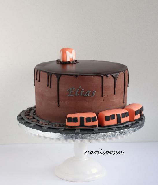Suklainen metrokakku