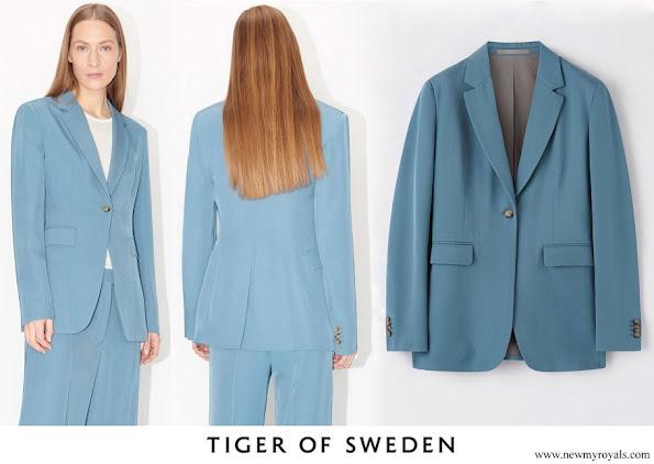 Crown Princess Victoria wore Tiger of Sweden Narina Blazer