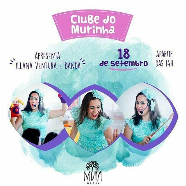 Ilana Ventura no Clube Murinha no Mura Orora