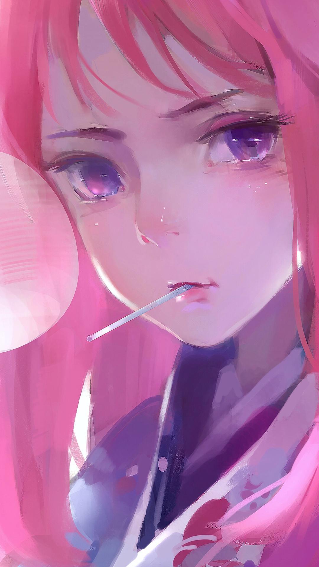 Cute Anime Girl Wallpaper