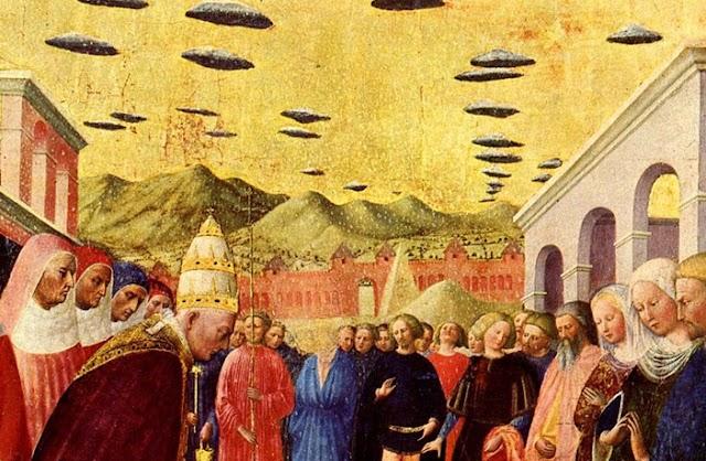 Τα UFO και οι εξωγήινοι, έχουν μακρά παράδοση στην ιστορία της τέχνης