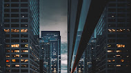 Architecture buildings in Chicago mobile wallpaper