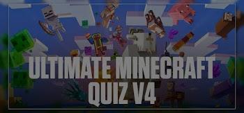 ultimate minecraft version 4 quiz answers 100% score quiz diva