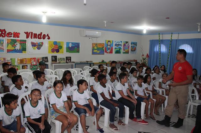 Escola Municipal Francisco Gomes Pinto, de Viçosa, recebeu o Projeto KIM na ESCOLA