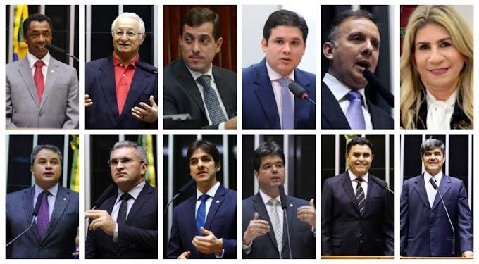 Bancada paraibana na Câmara dos Deputados gasta mais de R$ 17 milhões com cotão e verba de gabinete