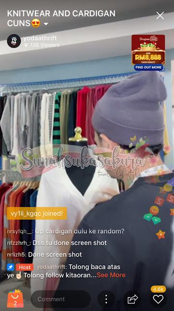 Istilah-istilah dalam Shopee Live