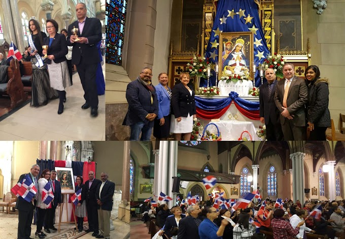 Consulado de Boston encabeza misas en ciudades de Massachusetts  para venerar la Virgen de la Altagracia
