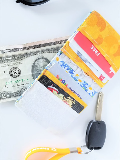 Easy Bifold Wallet Pattern and Tutorial