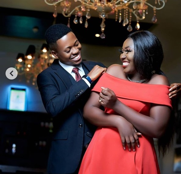 Young Man Rocks His Beautiful Fiancee As They Dance In Pre-Wedding Photos