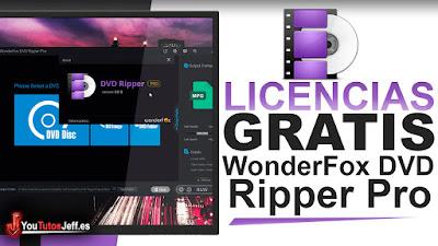 como descargar WonderFox DVD Ripper Pro, WonderFox DVD Ripper Pro, licencias gratis