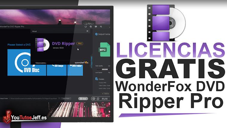 Como Descargar WonderFox DVD Ripper Pro - LICENCIAS GRATIS