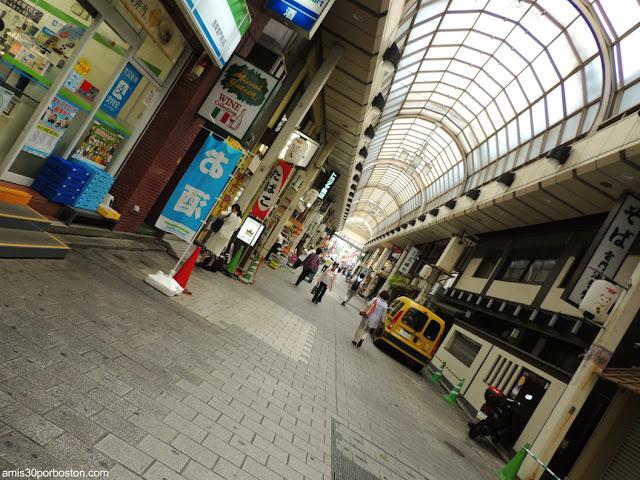 Calle Comercial Shin-Nakamise en Asakusa