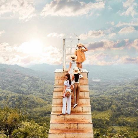 Pintu Langit Dahromo, Wisata Alam Murah Meriah yang Instagramable di Jogjakarta