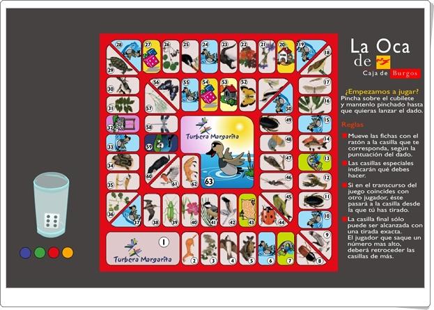 """""""El juego clásico de la Oca"""" (Juego online)"""