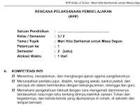 Download RPP SD Kelas III Semester 2 Tema Marilah Kita Berhemat untuk Masa Depan Kurikulum 2013 Format PDF