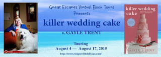 http://www.escapewithdollycas.com/great-escapes-virtual-book-tours/books-currently-on-tour/killer-wedding-cake-by-gayle-trent/