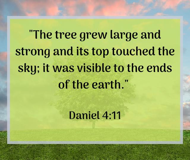 Bible quote: Daniel 4:11