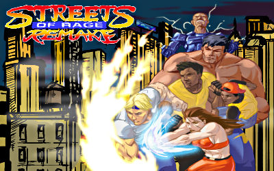Streets of Rage Remake - Jeu Beat'em All sur PC