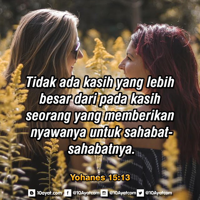 Yohanes 15:13