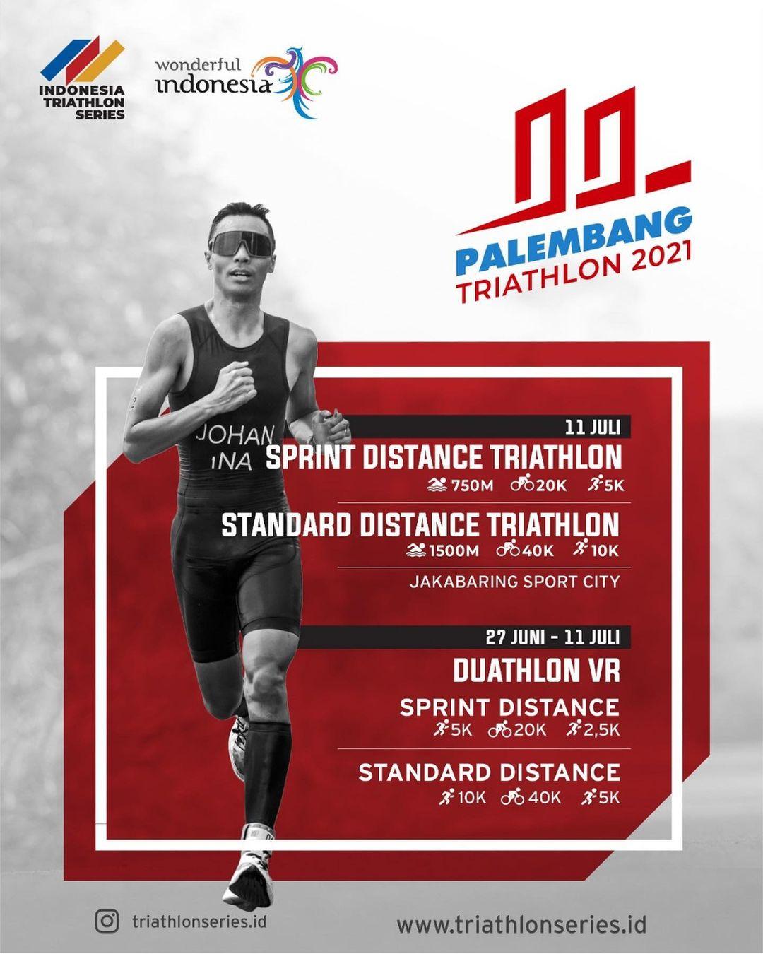 Palembang Triathlon • 2021