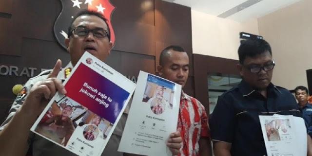 Polisi Tangkap Guru Honorer Asal Madura yang Posting Ancaman Bunuh Saja Jokowi
