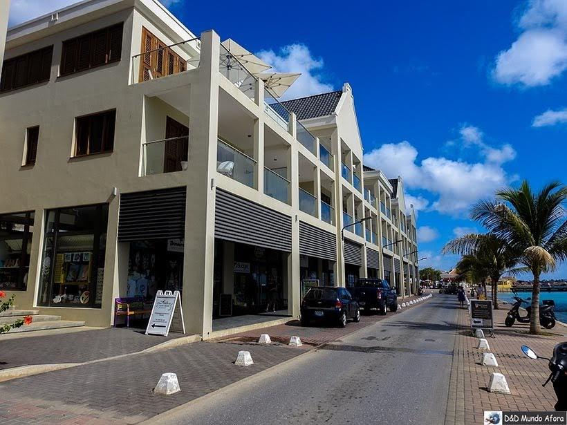 Ruas da capital Krajendijk - o que fazer em Bonaire