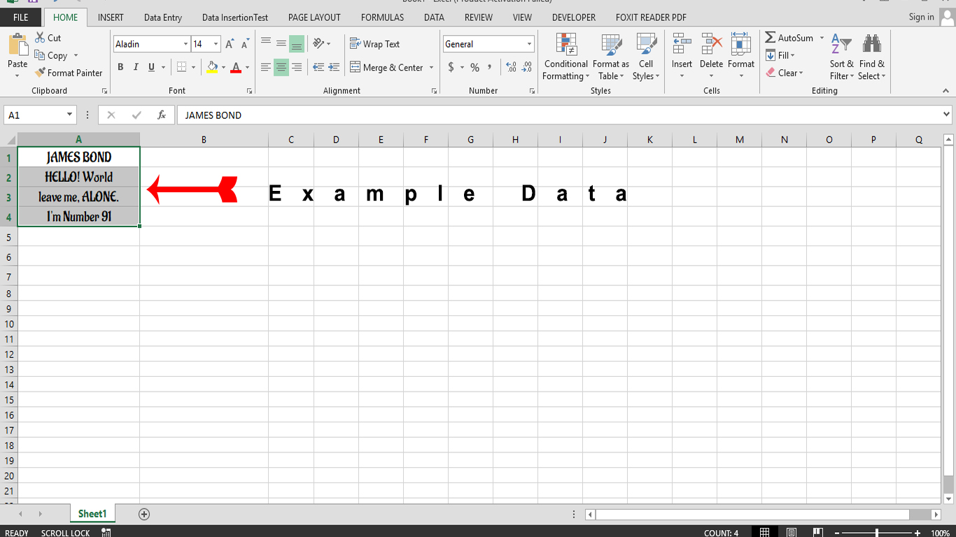Usage Of PROPER Function In Excel