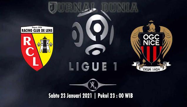 Prediksi Lens vs Nice , Sabtu 23 Januari 2021 Pukul 23.00 WIB