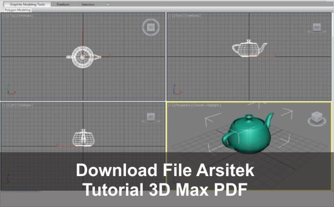 download Tutorial 3Ds Max pemula pdf