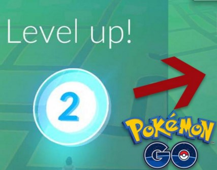 Gambar Menaikkan Level di Game Pokemon Go