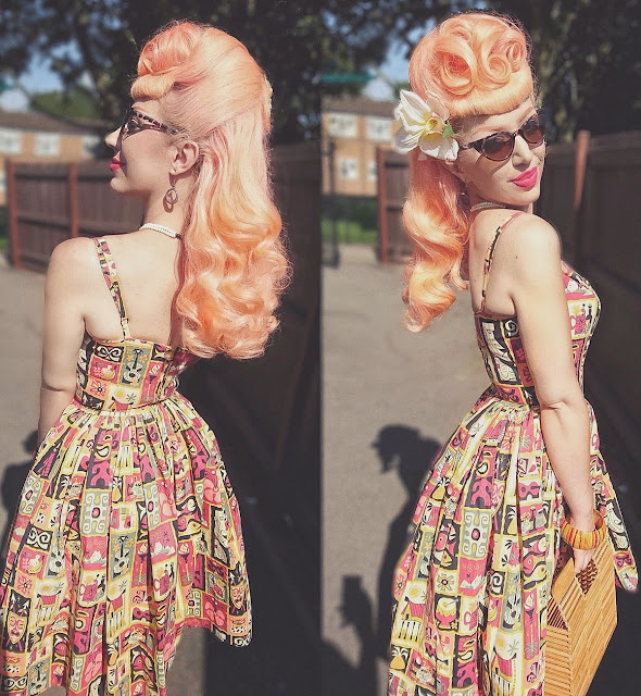 How To Step Up Your Pin-up Fashion Game This Summer. (The bolder the better!)
